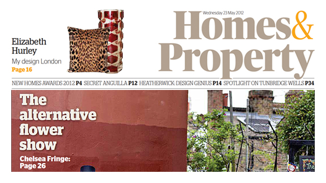 HOMES & PROPERTY, WINNER OF THE NEW HOMES AWARD